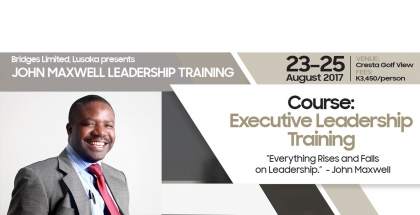 Bridges Limited presents John Maxwell Leadership Training